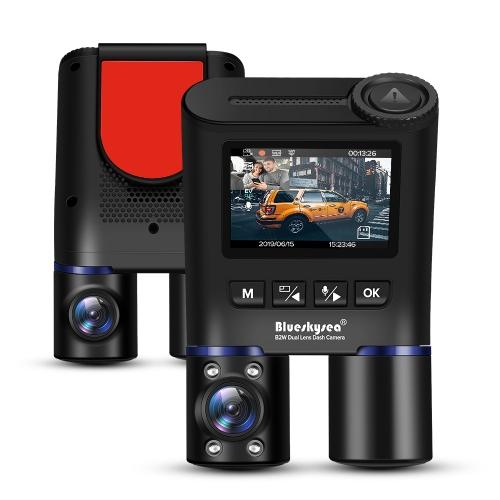 B2W Dual-Lens Dashcam